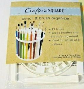 Pencil and brush organizer